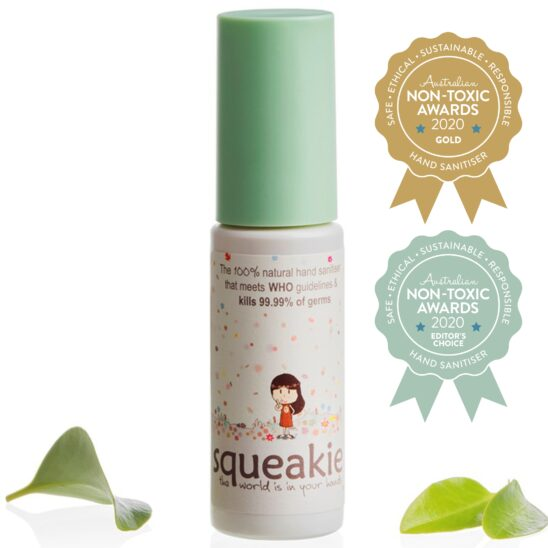 Squeakie, GOLD & EDITOR'S CHOICE, Australian Non Toxic Awards 2020